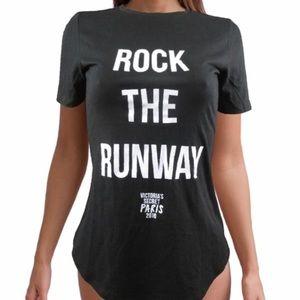 """Victoria's Secret """"Rock The Runway Shirt"""""""
